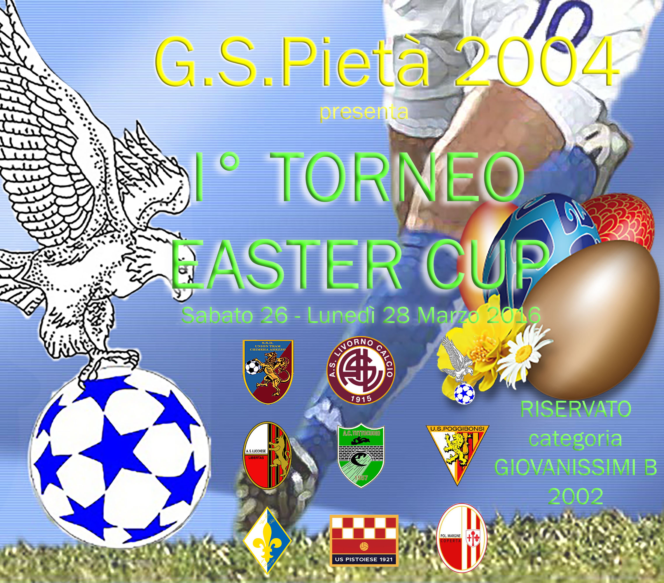 locandina easter cup